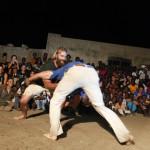Expedicion Madrid Rumbo al Sur 2011 Exhibicion de lucha senegalesa