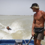 Expedicion Madrid Rumbo al Sur 2011 Campamento en la orilla del rio Senegal