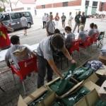 Campamento de Seleccion de expedicionarios de España Rumbo al Sur 2014.