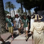 España Rumbo al Sur 2014. 3º dia de expedicion