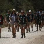 España Rumbo al Sur 2014. 4º dia de expedicion.