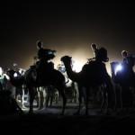 España Rumbo al Sur 2014. Marcha al oasis de la gran duna del Erg Chebi.