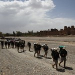 Salida de la Kashba de Amridil en direccion a Midelt