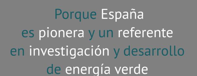 porque España es pionera