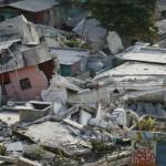 Terremoto en Haiti. Vista de la devastacion en la ciudad