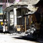 Terremoto en Haiti.  Calles de Petit Goave