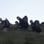 España Rumbo al Sur 2015. Campamento de seleccion.